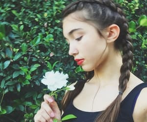 rowan blanchard, flower, and rowan image