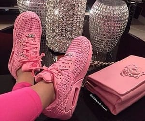 pink, shoes, and luxury image