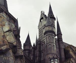 hogwarts, harry potter, and castle image