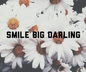 smile, flowers, and darling image
