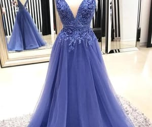 v-neck prom dresses image