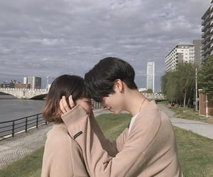 couple, ulzzang, and boy image
