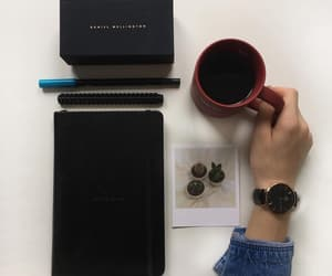 black, coffee, and school image