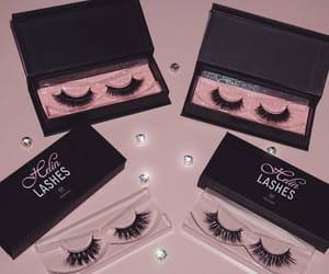 lashes, makeup, and luxury image