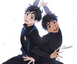 anime, yuri on ice, and phichit image