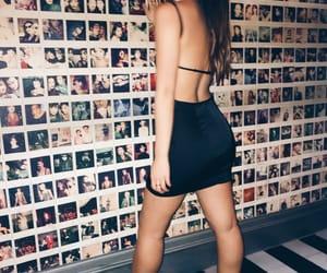 black, club, and dress image
