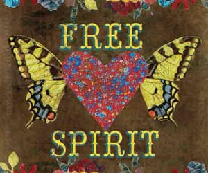 free, free spirit, and quotes image