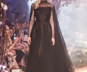 designer, dress, and haute couture image