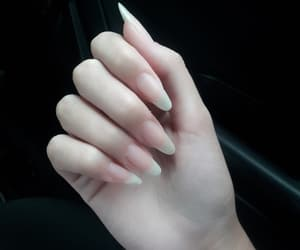 girl, nails, and tumblr image