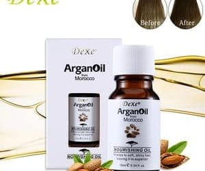 argan oil, hair care, and natural oil image