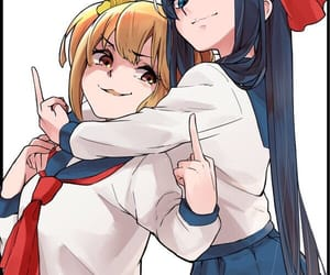pop team epic and poptepipic image