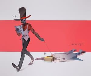 black hat, villainous, and dr.flug image