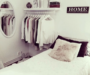 beauty, room, and white image