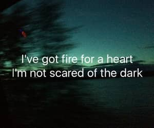 dark, heart, and drag me down image
