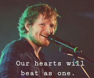 Lyrics, song, and ed sheeran image