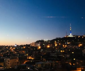 seoul, nightview, and namsan image