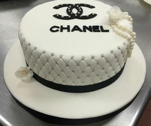 birthday, 21st, and chanel cake image