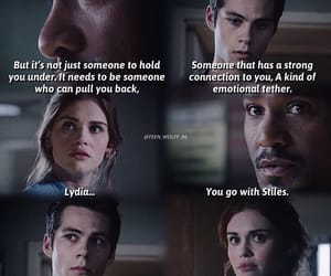 always, teen wolf, and stiles and lydia image