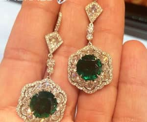 earrings, fashion, and trending image