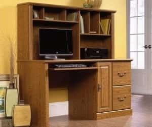 Computer Desk and computer desks with hutch image