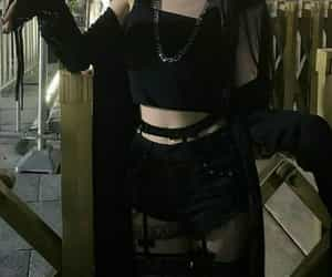 clothes, goth, and gothic image