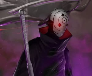 obito uchiha, naruto, and tobi image
