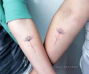 couple, flower, and minimalist image