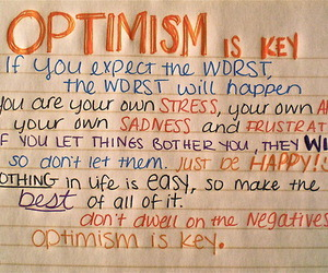 optimism and positivity image