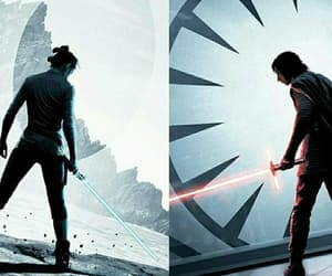 background, dark side, and star wars image