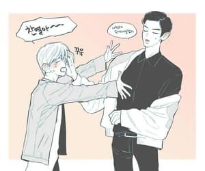 exo, baekyeol, and cute image