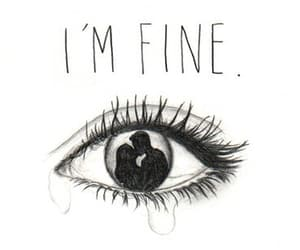 sad, fine, and i'm fine image