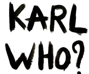 karl lagerfeld, chanel, and karl image