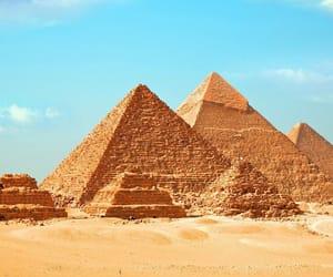 pyramid, egypt, and giza image