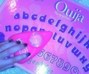 grunge, pink, and ouija image