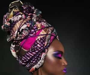 African, woman, and fashion image