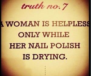 quotes, woman, and nail polish image
