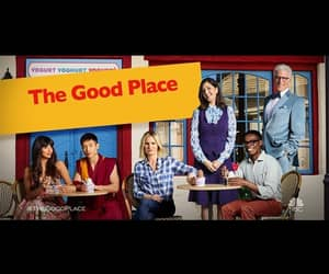 series, the good place, and netflix image