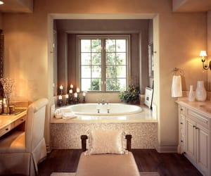 amazing, bathroom, and brown image