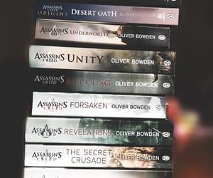 adventure, assassins, and books image