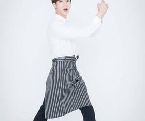 jin, bts, and kim seok jin image
