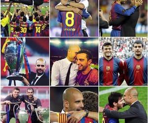 fc barcelona and pep guardiola image