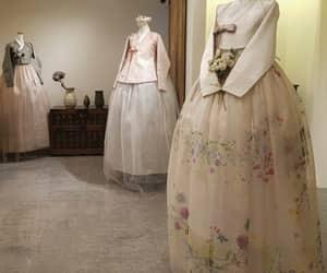 korea, wedding, and hanbok image