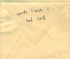words, quotes, and Letter image