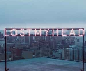 city, lost, and neon image