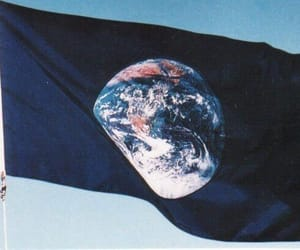 earth, flag, and planet image