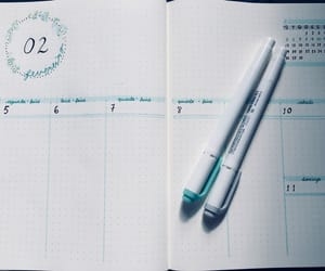 aqua, february, and journal image