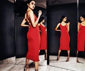 fashion, merlot, and dress image