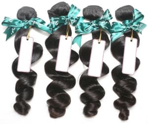 hair extensions, peruvian body wave hair, and peruvian loose wave hair image