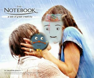 clock, kiss, and notebook image