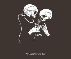 grunge, skull, and alternative image